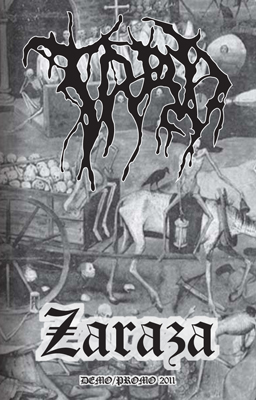 Trad zaraza demo promo 2011 black metal