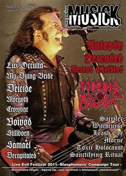 Musick Magazine - nowy polski magazyn metalowy!