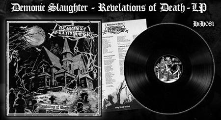 Demonic Slaughter - Revelations of Death LP
